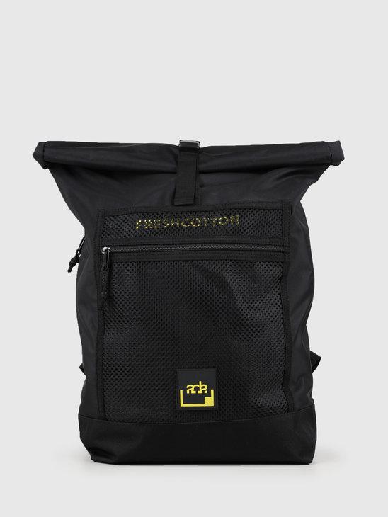 FRESHCOTTON x ADE Backpack Black