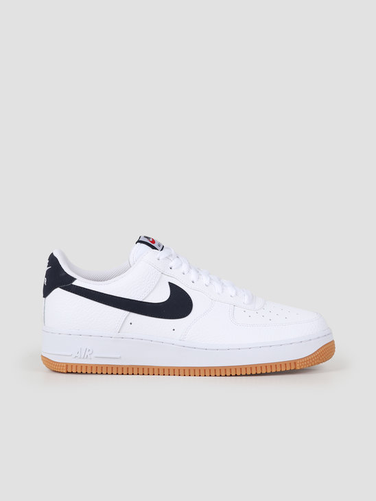 Nike Air Force 1 07 2 White Obsidian University Red CI0057-100