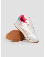 Reebok Reebok CL Leather NU Alabaster Cyan Pink  DV7218