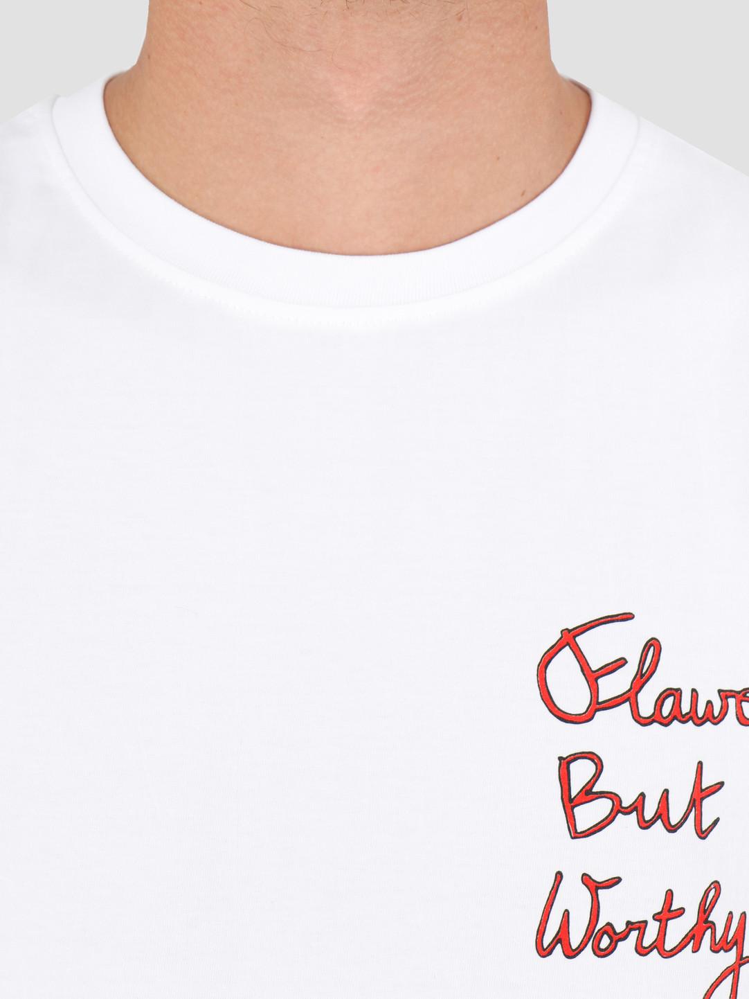 FRESHCOTTON FreshCotton Flawed But Worthy T-Shirt And Book