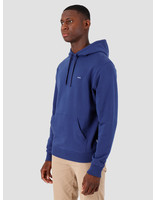 Quality Blanks Quality Blanks QB93 Patch Logo Hoodie Deep Blue