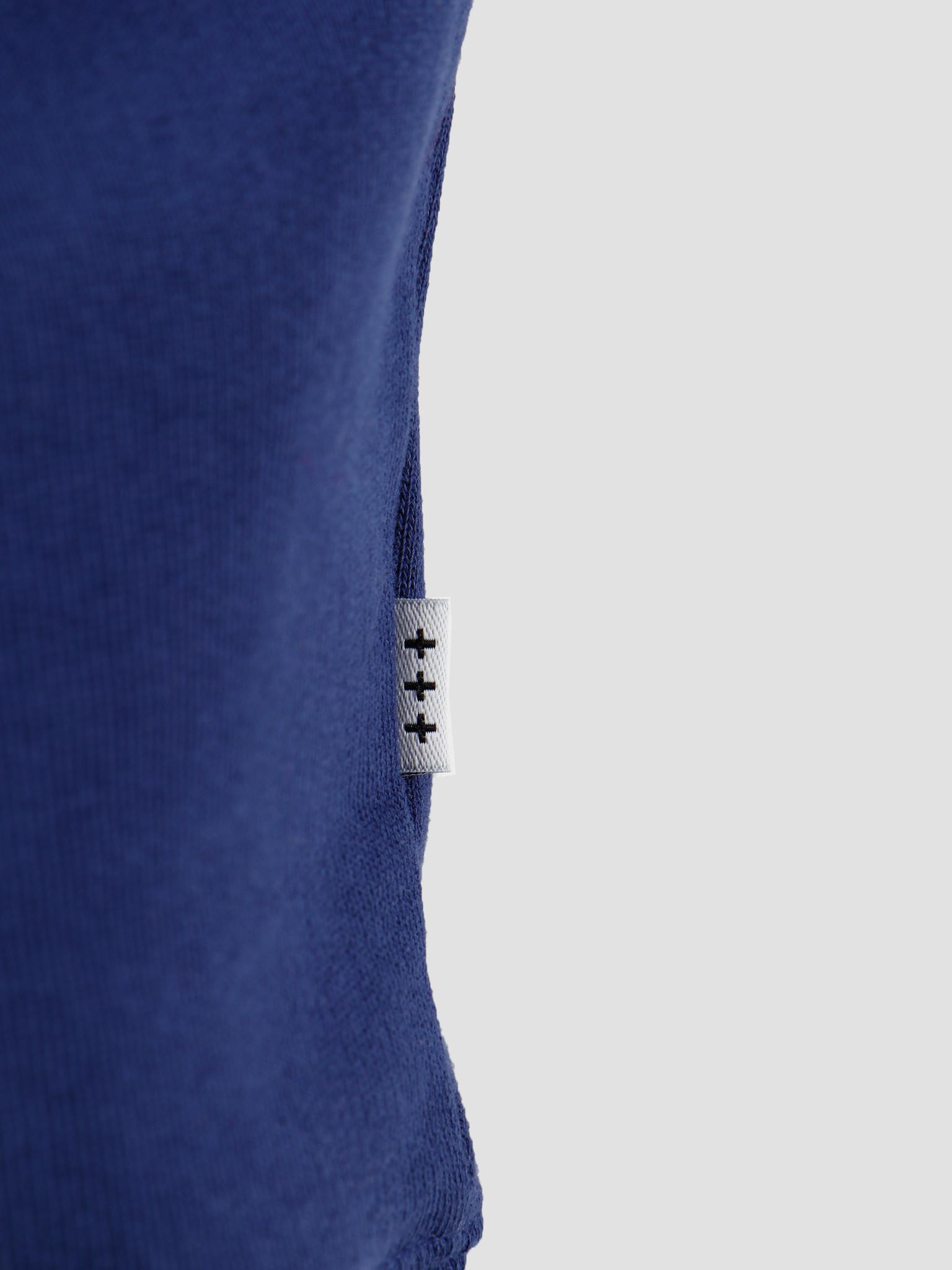 Quality Blanks Quality Blanks QB94 Patch Logo Crewneck Deep Blue