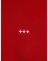 Quality Blanks Quality Blanks QB94 Patch Logo Crewneck Jewel Red