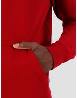 Quality Blanks Quality Blanks QB93 Patch Logo Hoodie Jewel Red