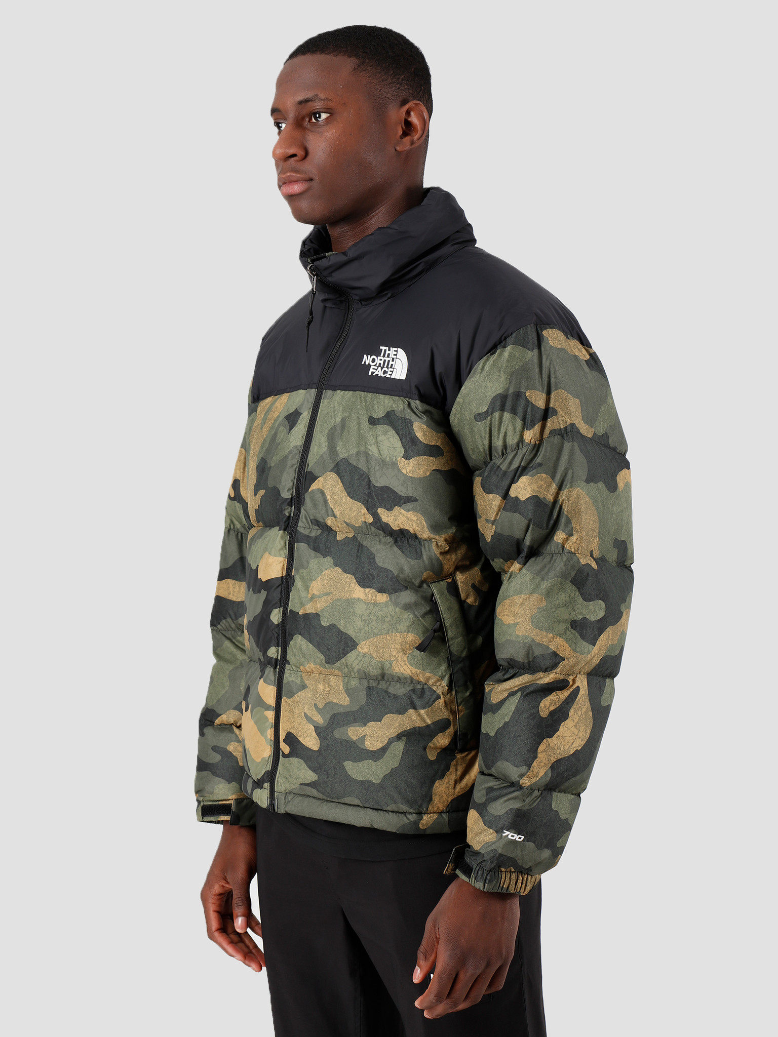 The North Face The North Face 1996 Retro Nuptse Jacket Burn To Live Green T93C8DF32
