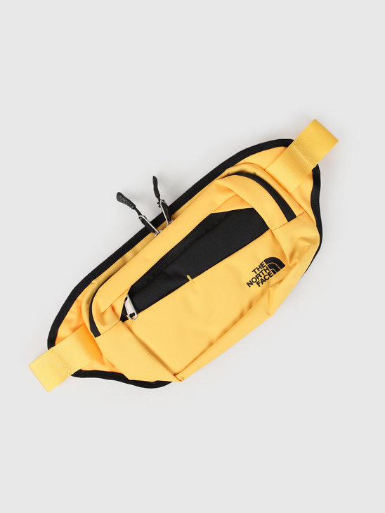 The North Face Bozer Hip Pack II Yellow Black T92UCXLR0