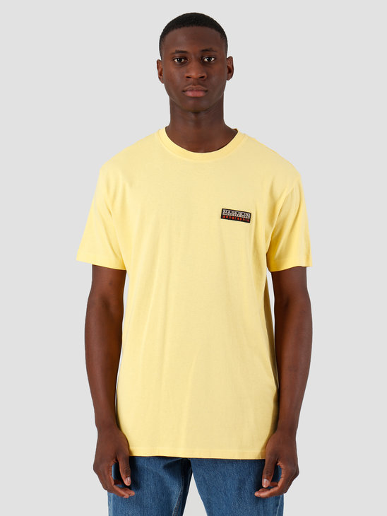 NAPAPIJRI The Tribe Sase T-Shirt Yellow Sunshine N0YIUHY21