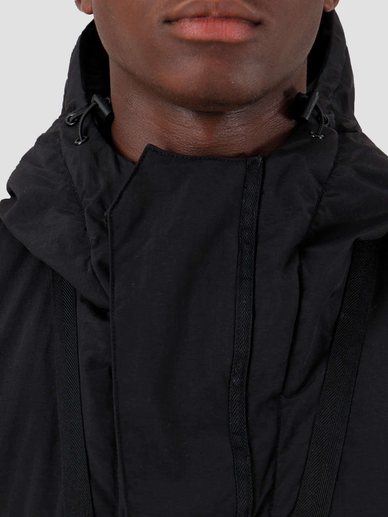 NAPAPIJRI NAPAPIJRI The Tribe Skidoo Creator Parka Black N0YIU5041