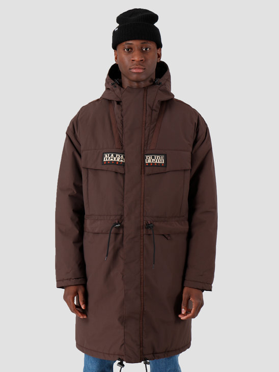 NAPAPIJRI The Tribe Skidoo Creator Parka Choco Brown N0YIU5W25