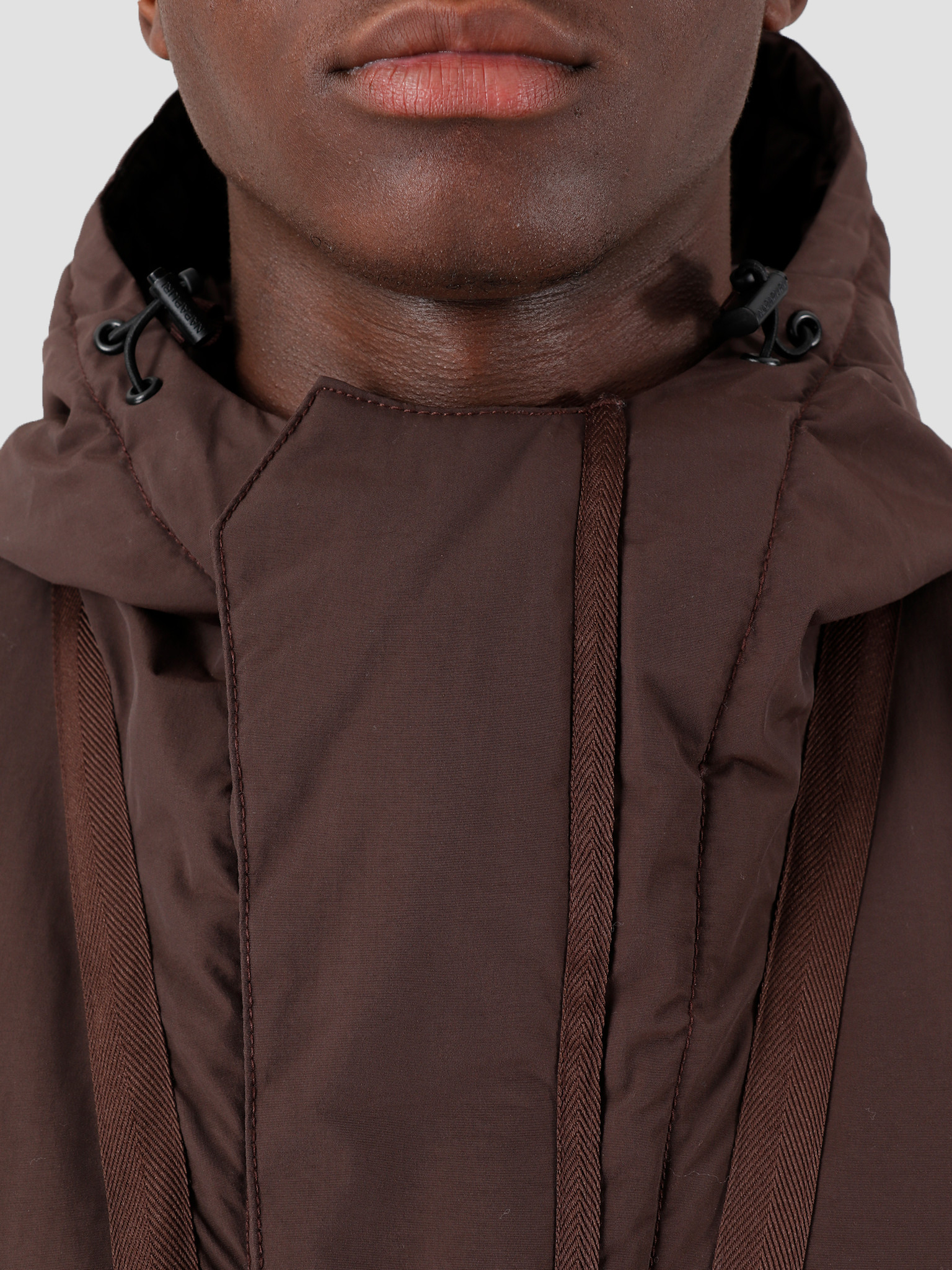 NAPAPIJRI NAPAPIJRI The Tribe Skidoo Creator Parka Choco Brown N0YIU5W25