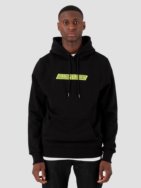 Daily Paper Copatch Hoodie Black Neon 19S1Hd09 03
