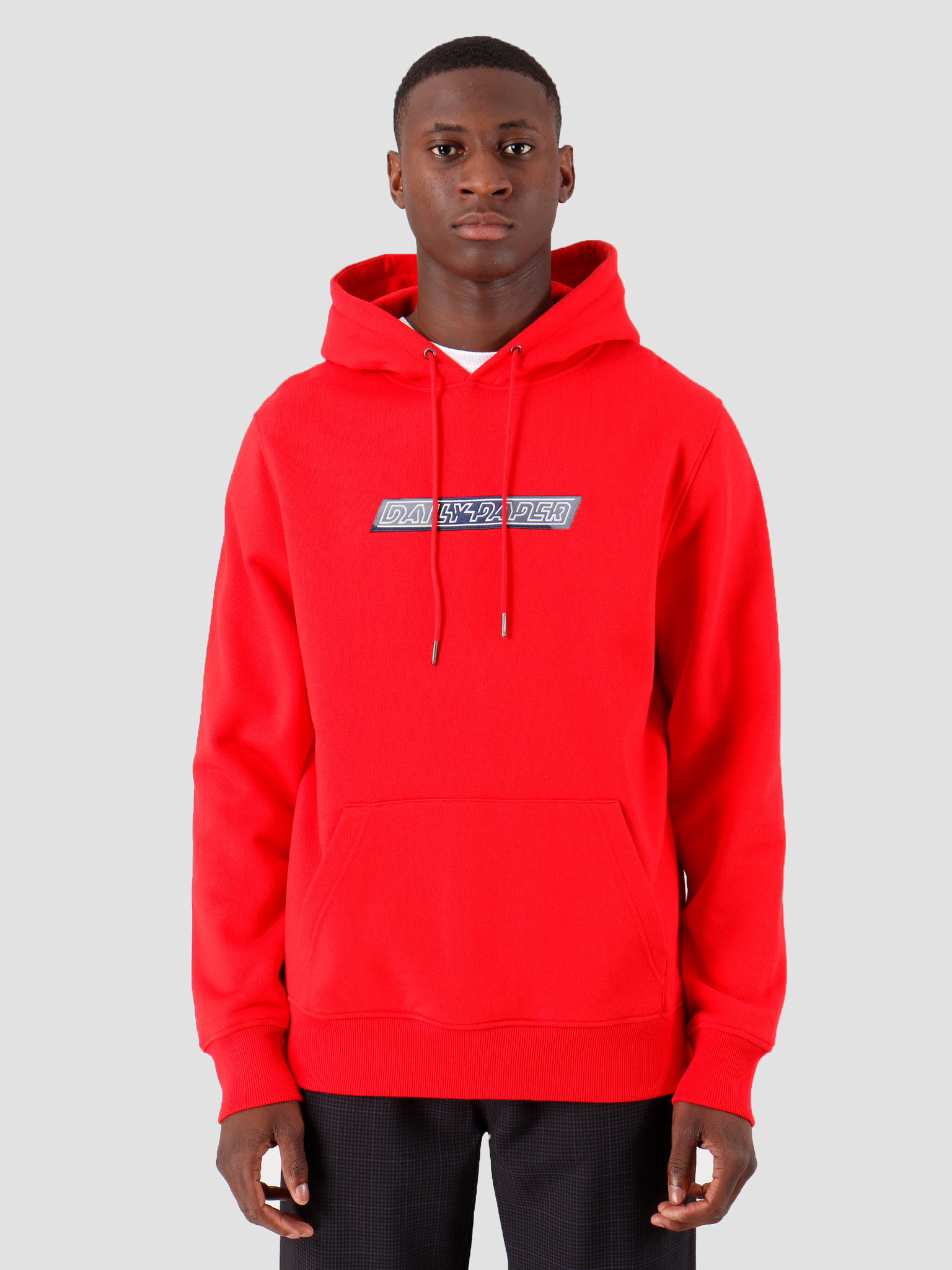 Daily Paper Daily Paper Copatch Hoodie Red Navy 19S1Hd09 04