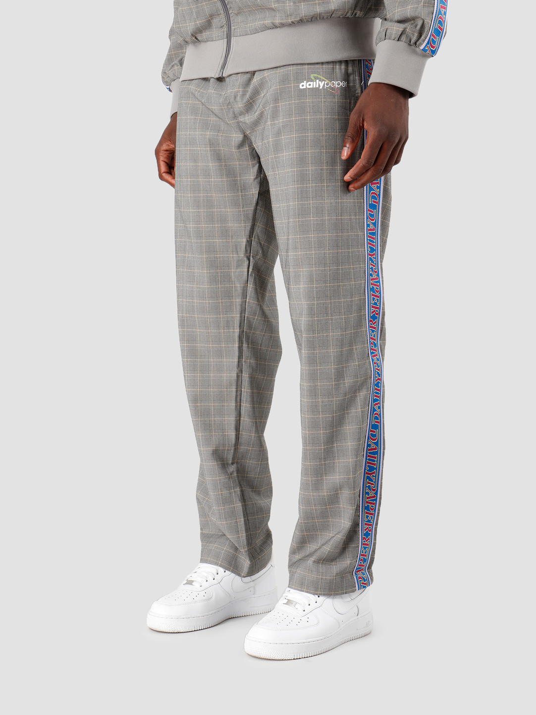 Daily Paper Daily Paper Getape Pants Grey/Yellow Check 19F1PA07-01