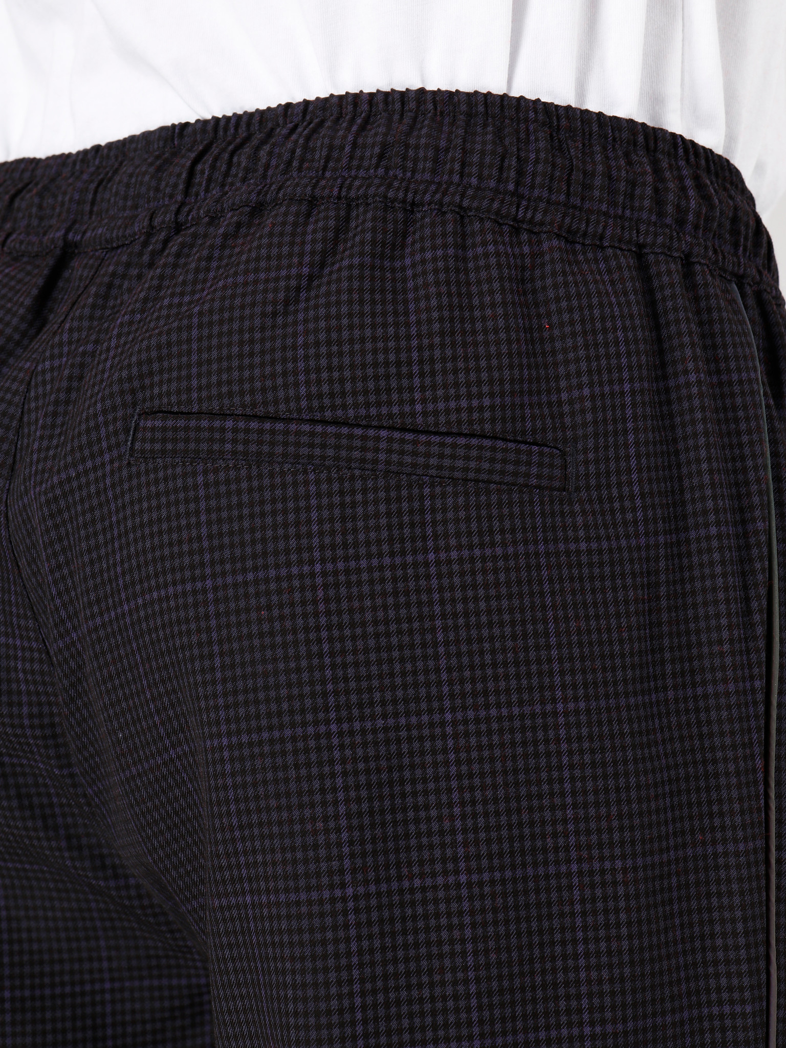 Daily Paper Daily Paper Gezip Check Pants Purple Check 19F1PA05-02