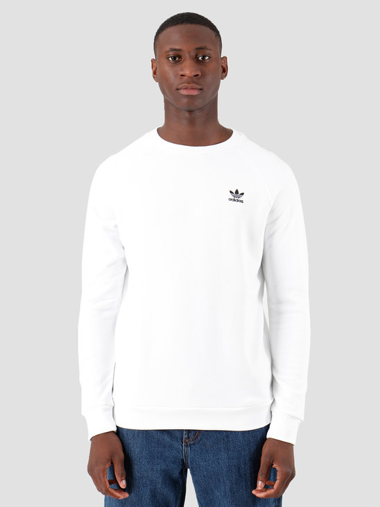adidas Essential Crewneck White Black ED6208