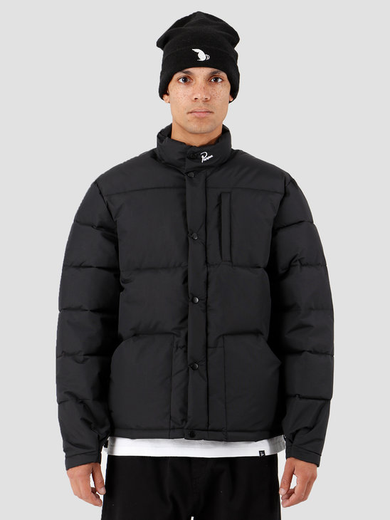 By Parra Grab The Flag Puffer Jacket Black 43020