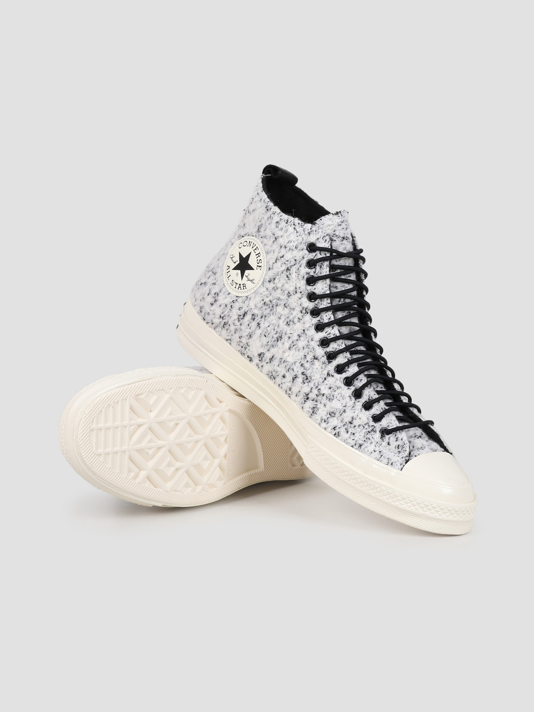 Converse Converse Chuck 70 HI White Black Egret 166132C