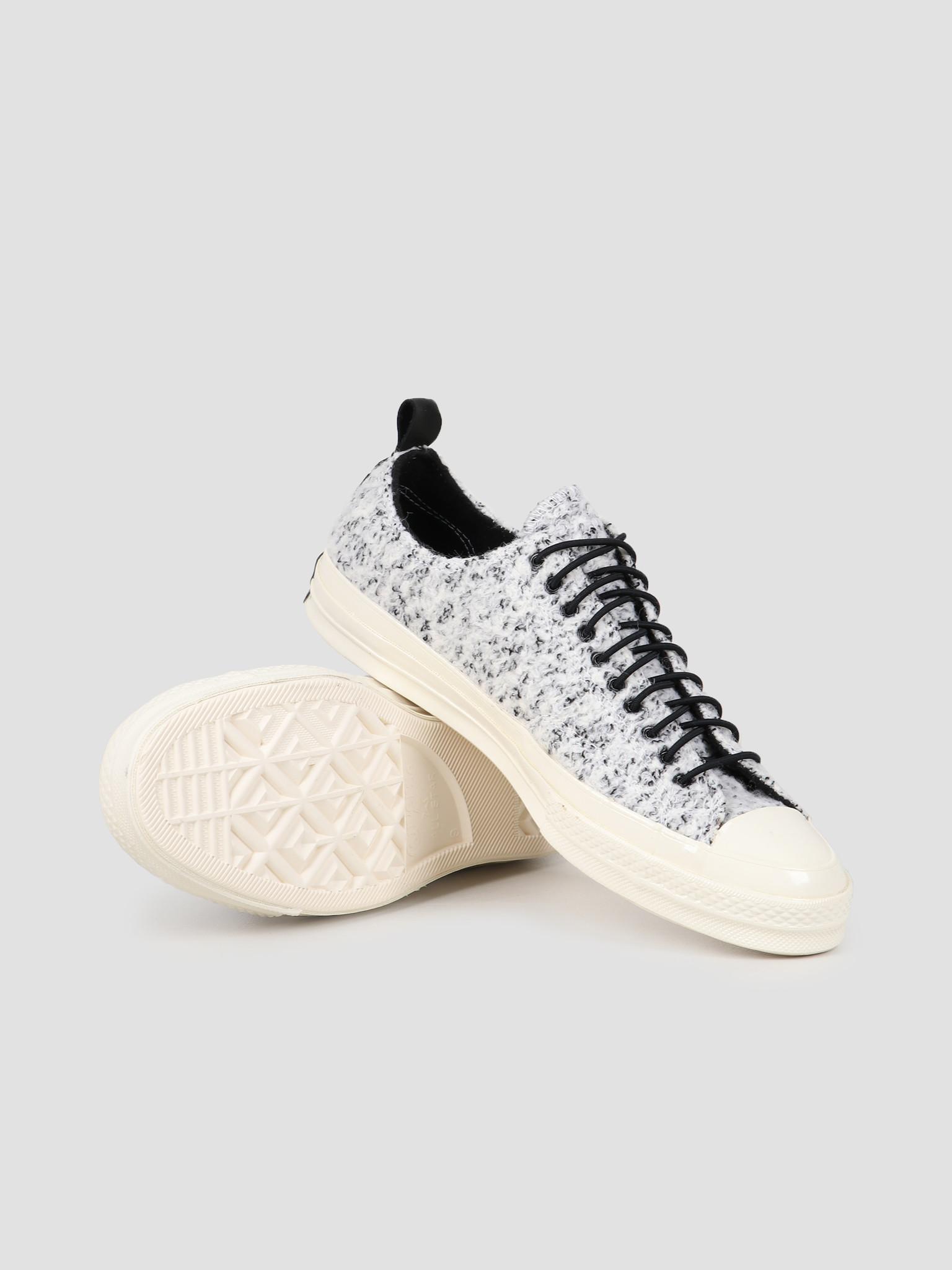 Converse Converse Chuck 70 OX White Black Egret 166254C