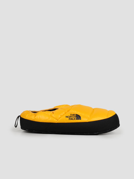 The North Face NSE Tent Mule III Yellow Black T0AWMGLR0