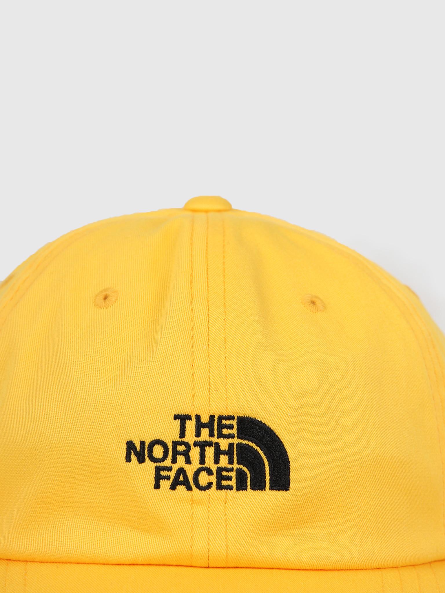 The North Face The North Face The Norm Hat Yellow Black T9355WLR0