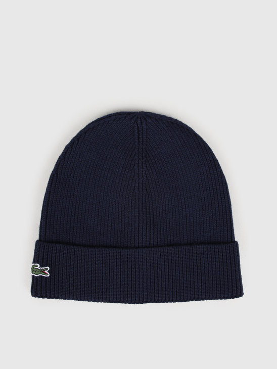 Lacoste 2G4B Knitted Cap 07A Marine Rb3502-83