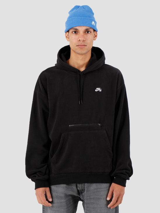 Nike SB Hoodie Black White Ci0936-010