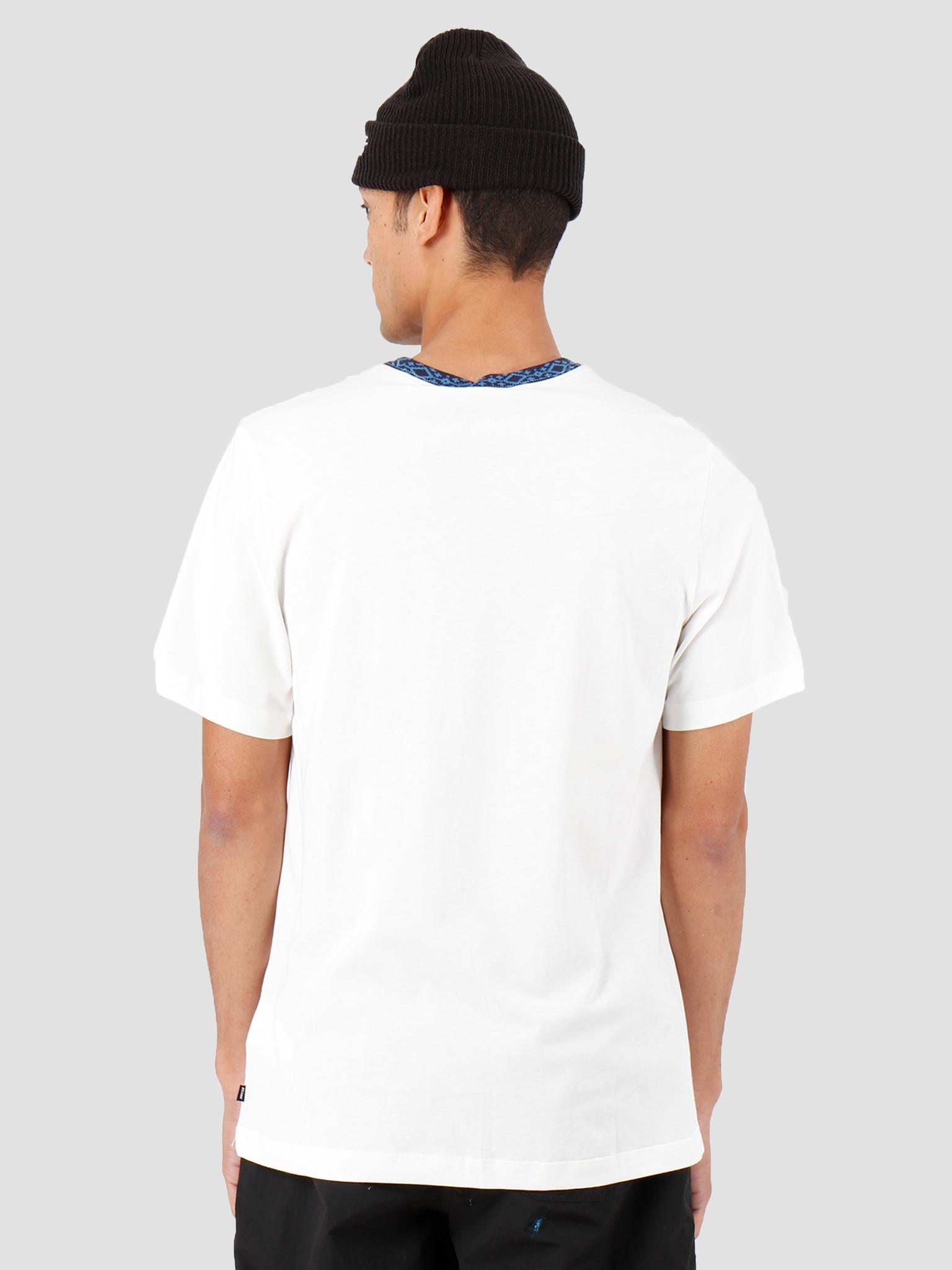Nike Nike SB T-Shirt Sail Obsidian Bright CriMSon Cj0454-133