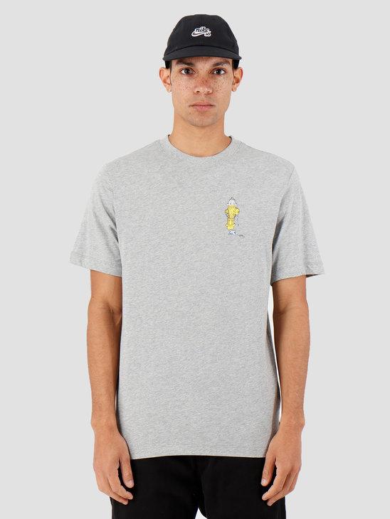 Nike SB T-Shirt DK Grey Heather Cj0448-063