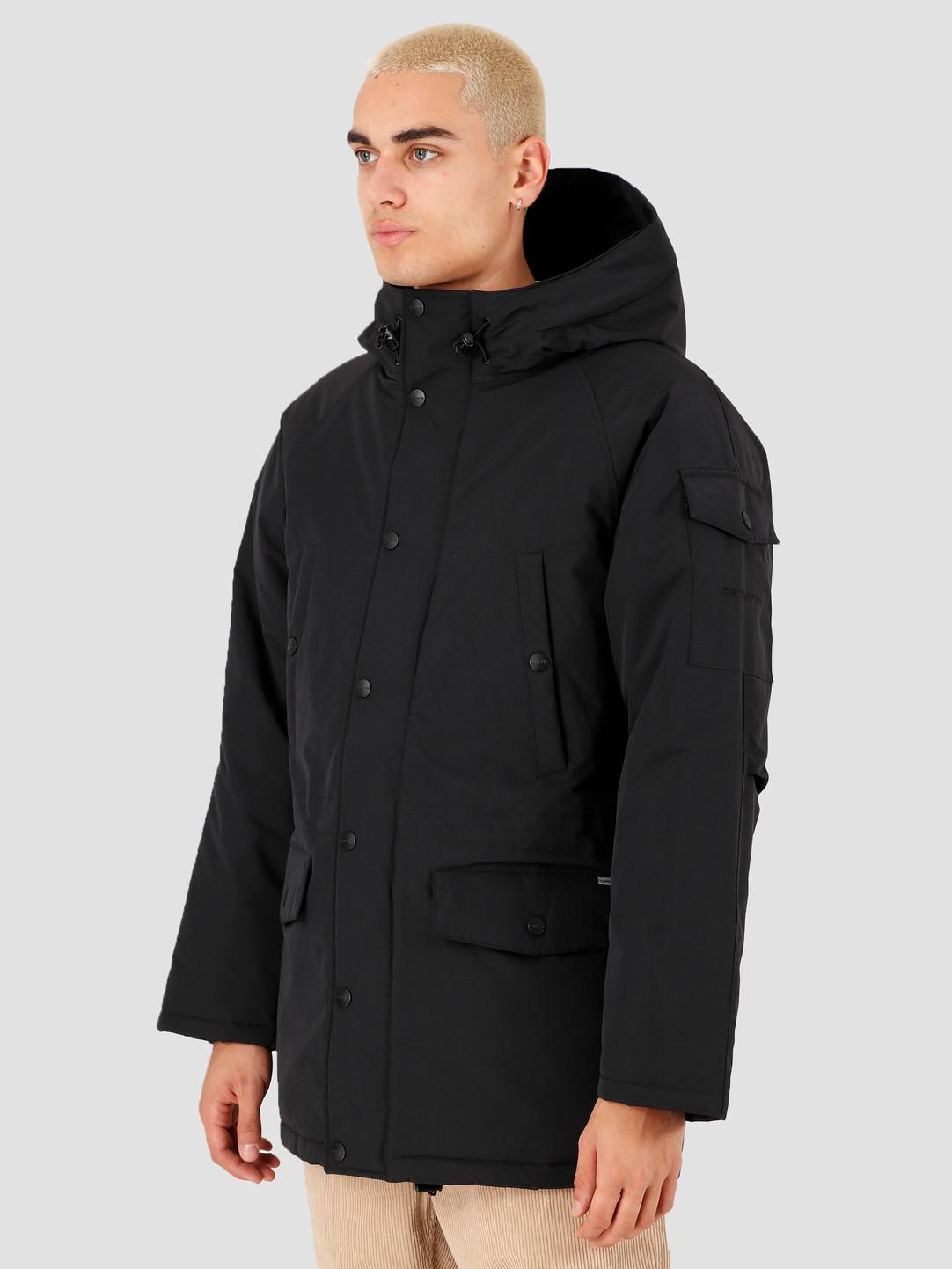 buty do separacji moda sklep internetowy Carhartt WIP Anchorage Parka Black Black I027126