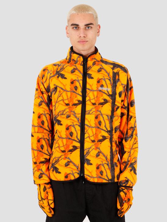 Carhartt WIP Beaufort Jacket Camo Tree Orange Reflective Grey I027023