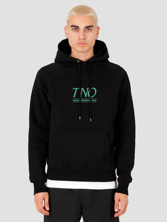 The New Originals Underline Hoodie Black Green