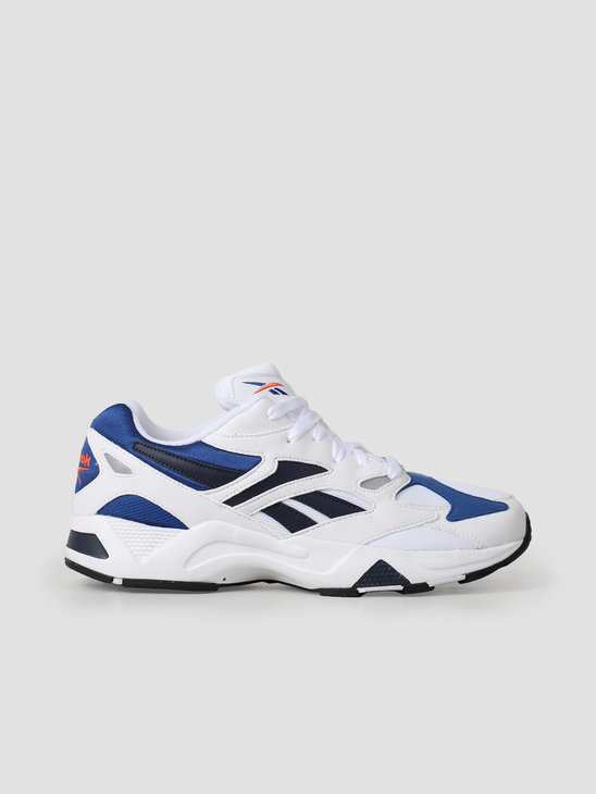 Reebok Aztrek 96 White Royal Fiery Or DV6756