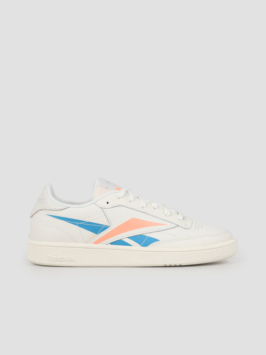 Reebok Club C 85 Chalk Cyan Sunglo DV7247