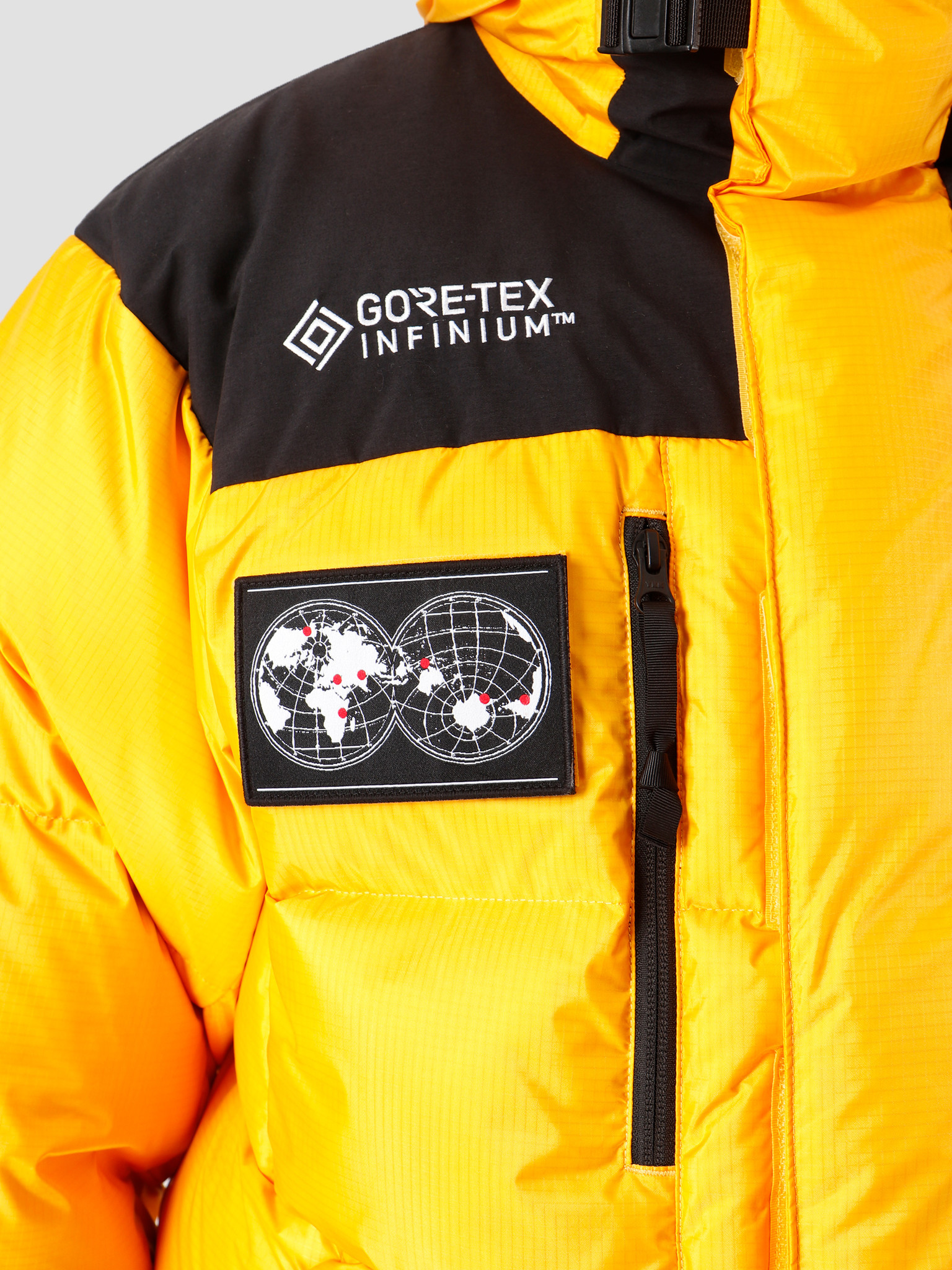 The North Face The North Face 7Se Himalayan Parka Gtx Tnf Yellow Nf0A3Mjb70M1