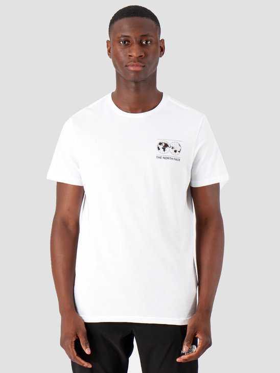 The North Face 7Se Ss Graphic Tee Tnf White Nf0A3Y14Fn41
