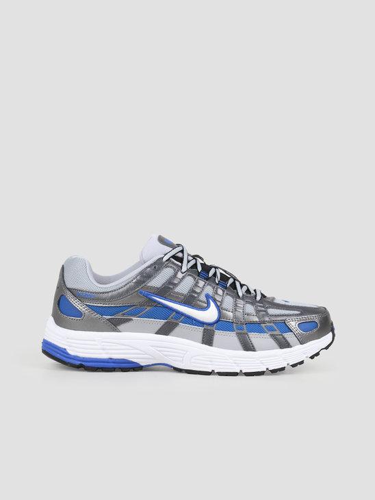 Nike Nike P6000 Wolf Grey White Game Royal Bv1021 006