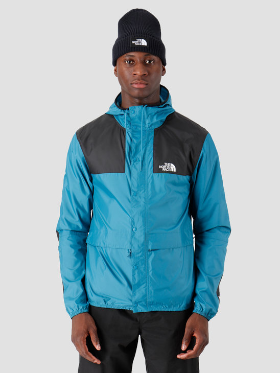 The North Face 1985 Seasonal Mountain Jacket Saxony Blue Black T0CH37NT1