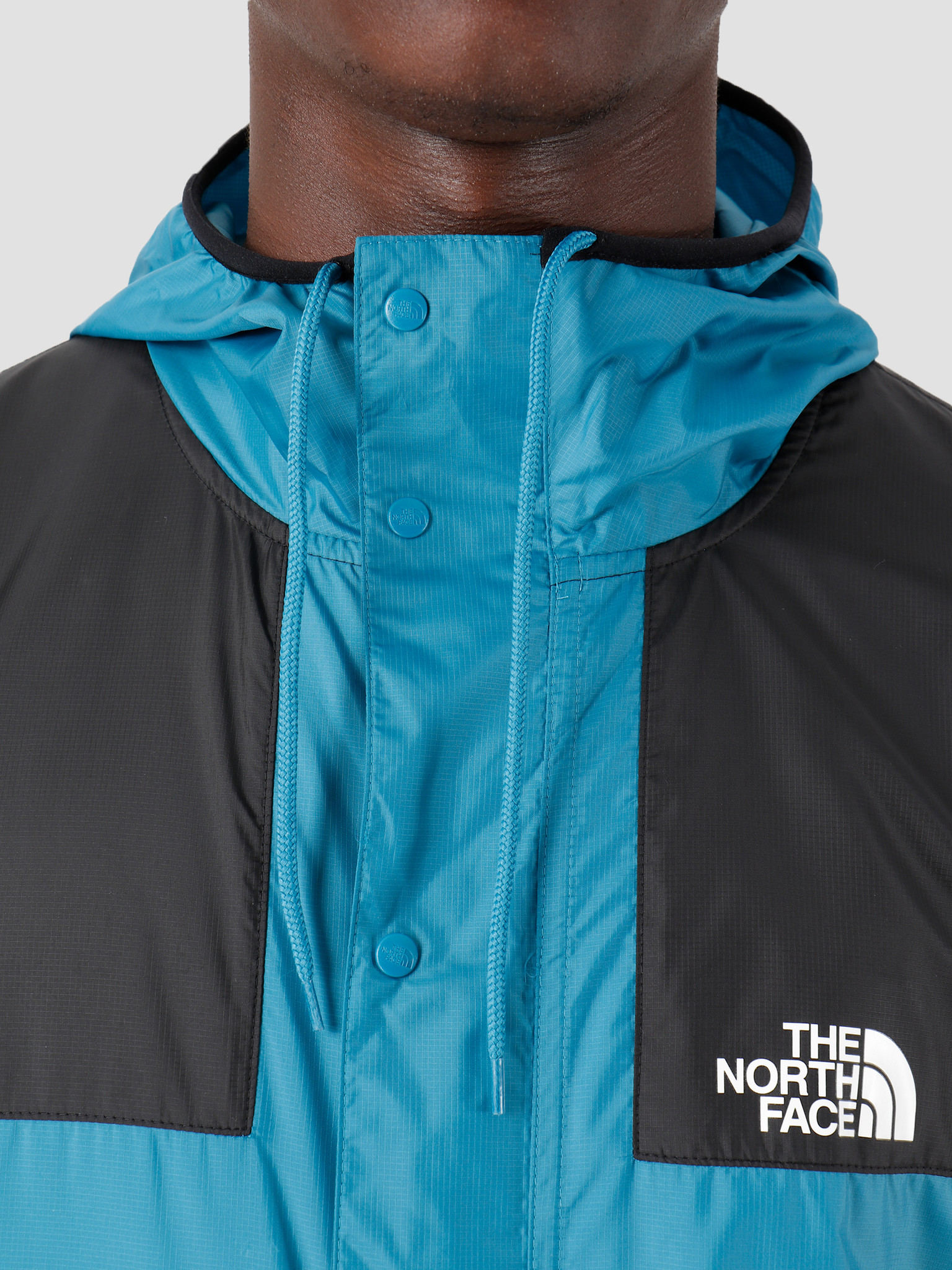 The North Face The North Face 1985 Seasonal Mountain Jacket Saxony Blue Black T0CH37NT1