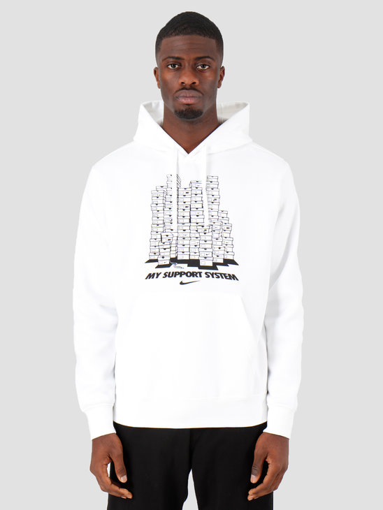Nike Sportswear Hoodie White Ci6276-100