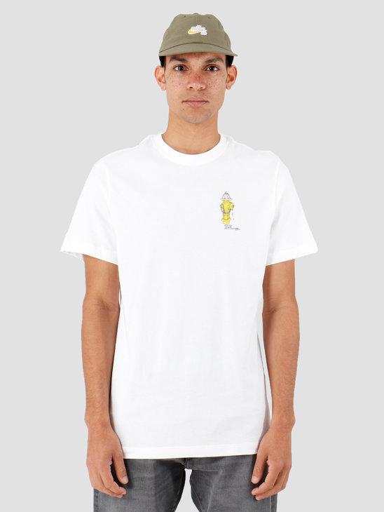 Nike SB T-Shirt White Cj0448-100
