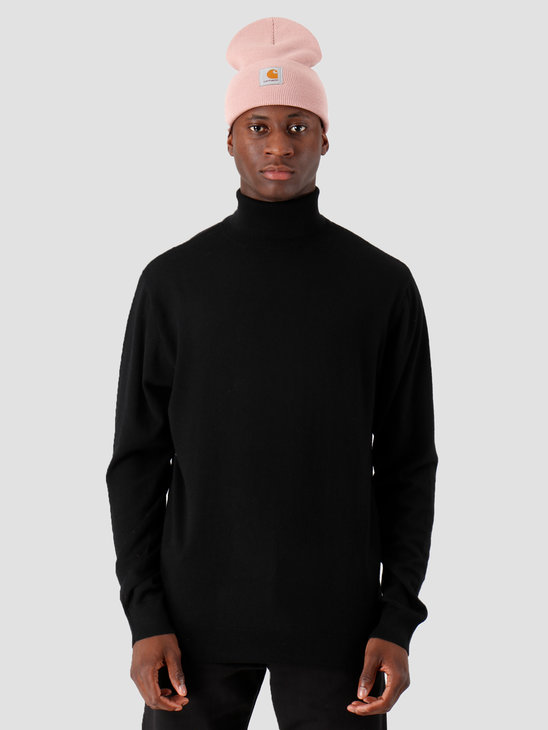 Carhartt WIP Playoff Turtleneck Sweater Black I023368