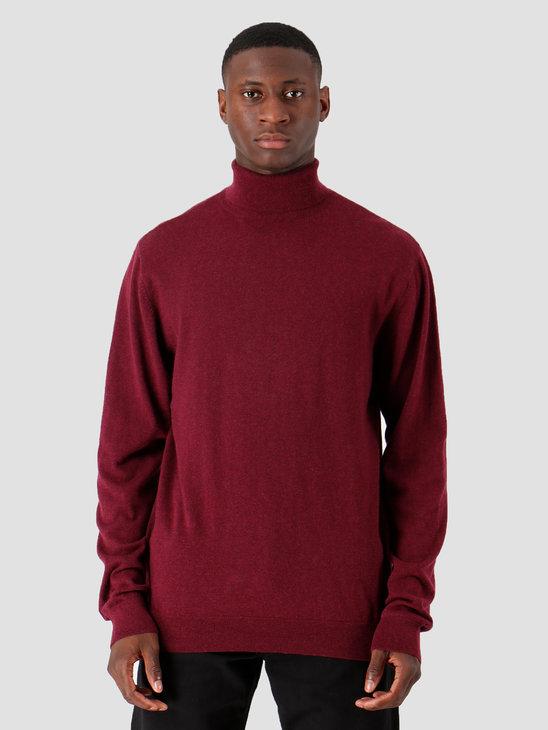 Carhartt WIP Playoff Turtleneck Sweater Merlot Heather I023368