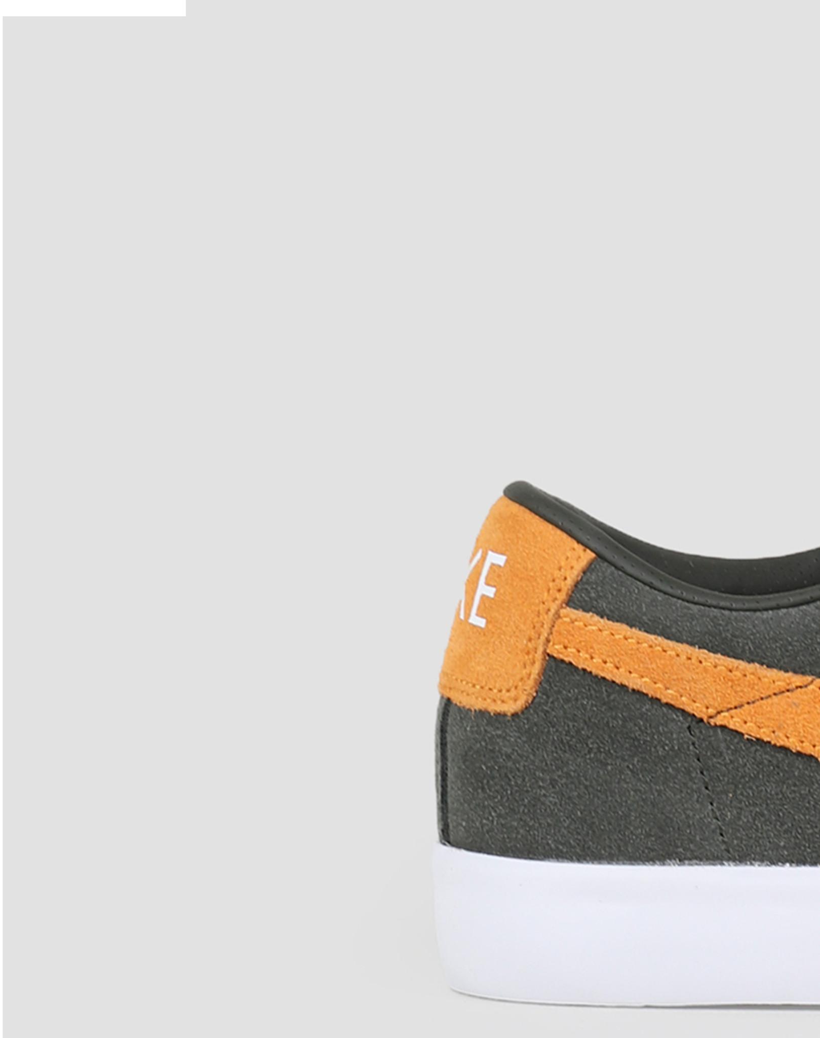 Nike Nike SB Blazer Low GT Sequoia Kumquat White Gum Light Brown 704939 302