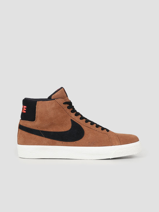 Nike SB Zoom Blazer Mid Lt British Tan Black 864349 202