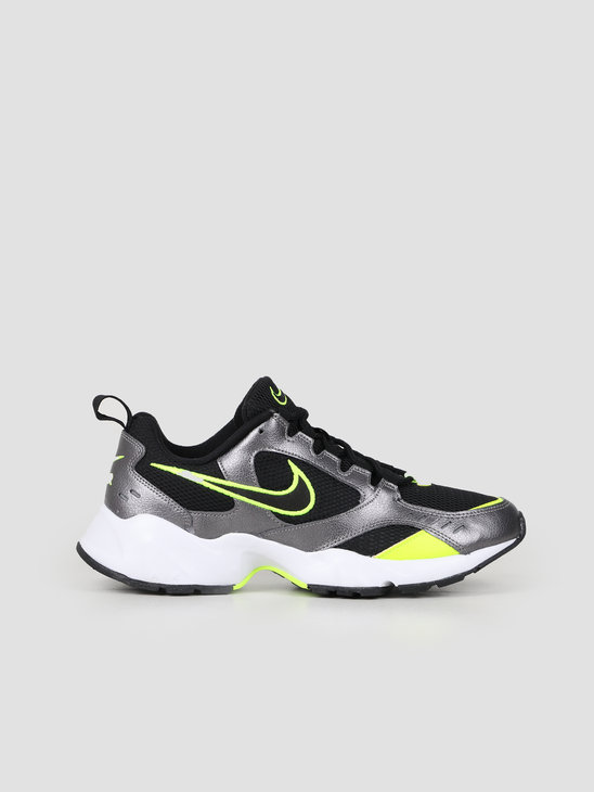 Nike Air Heights Black Volt Mtlc Dark Grey White AT4522 006