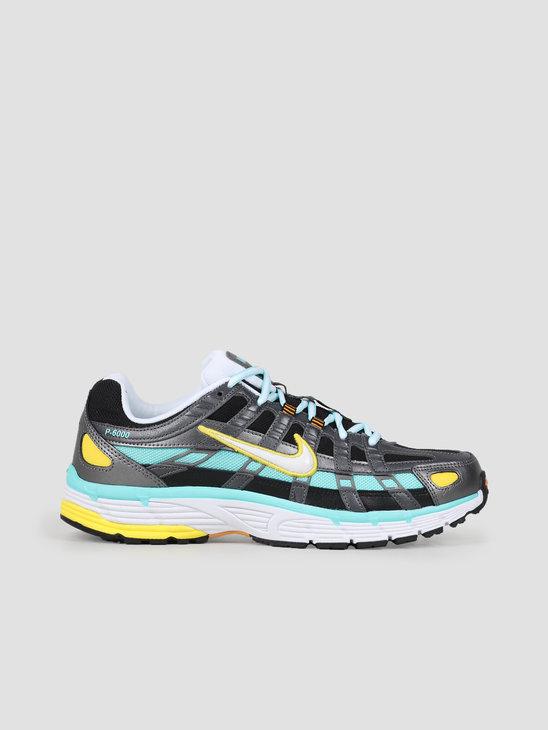 Nike Nike P6000 Black White Aurora Green Amber Rise Bv1021 005