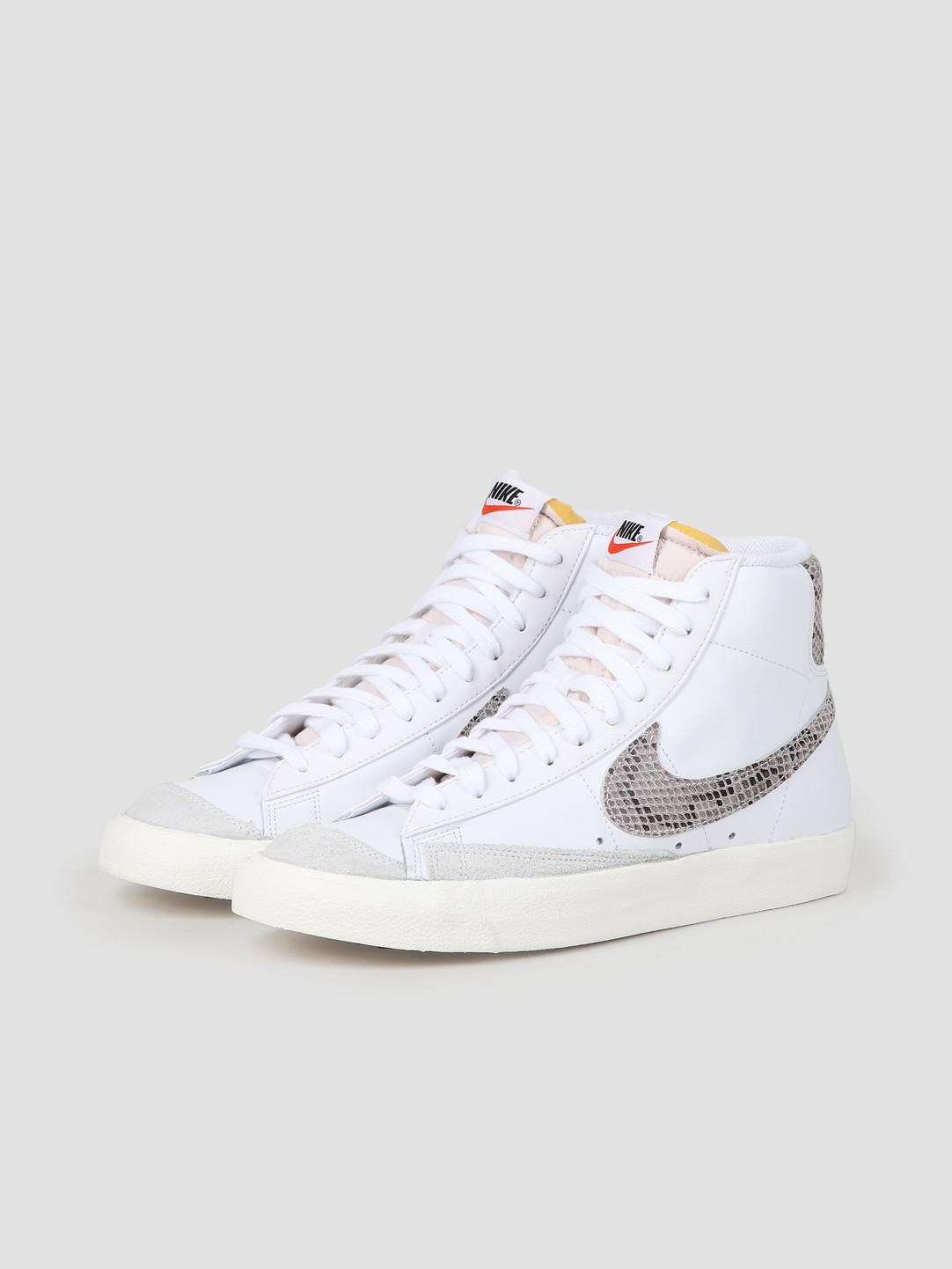 sports shoes pretty cool hot products Nike Blazer Mid 77 Vintage White Sail Ci1176-101