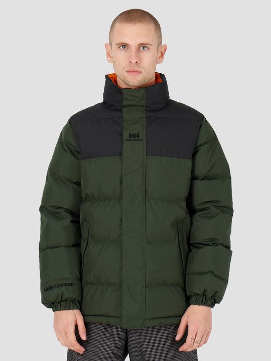 Helly Hansen Yu Puffer Jacket 454 Mountain Green 53380