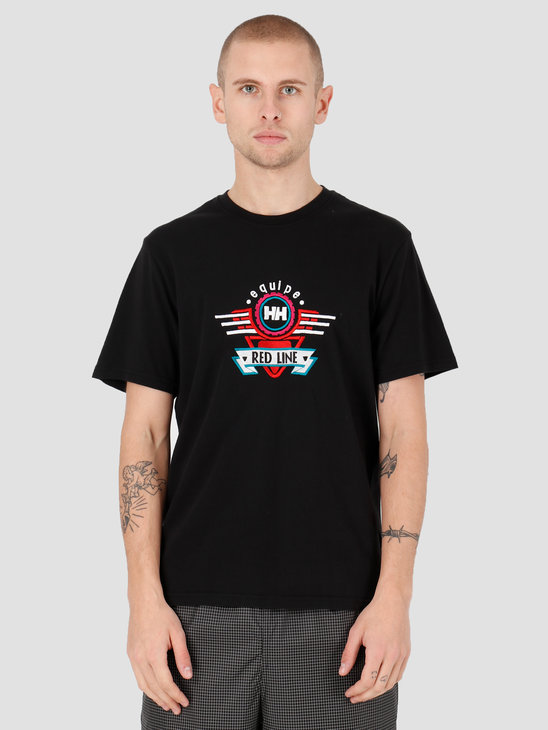 Helly Hansen Heritage Equipe T-Shirt 990 Black 53363