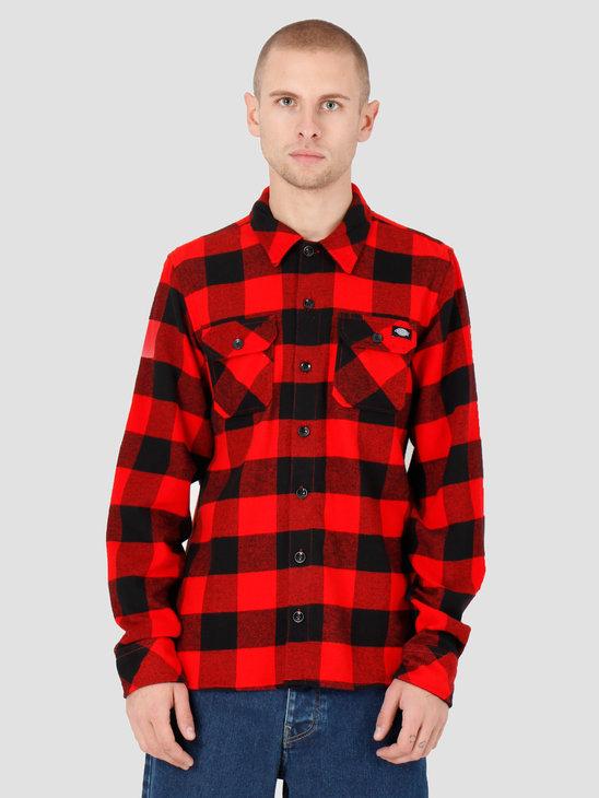 Dickies Sacramento Shirt Red DK520142RDX1